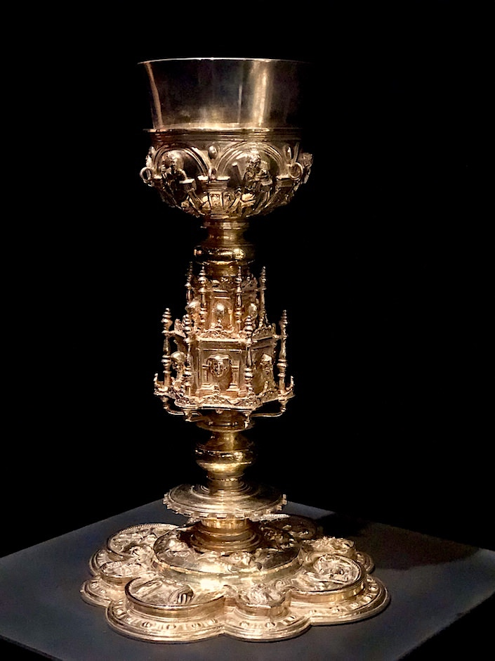 chalice at Jaime Eguiguren at TEFAF New York Fall 2017