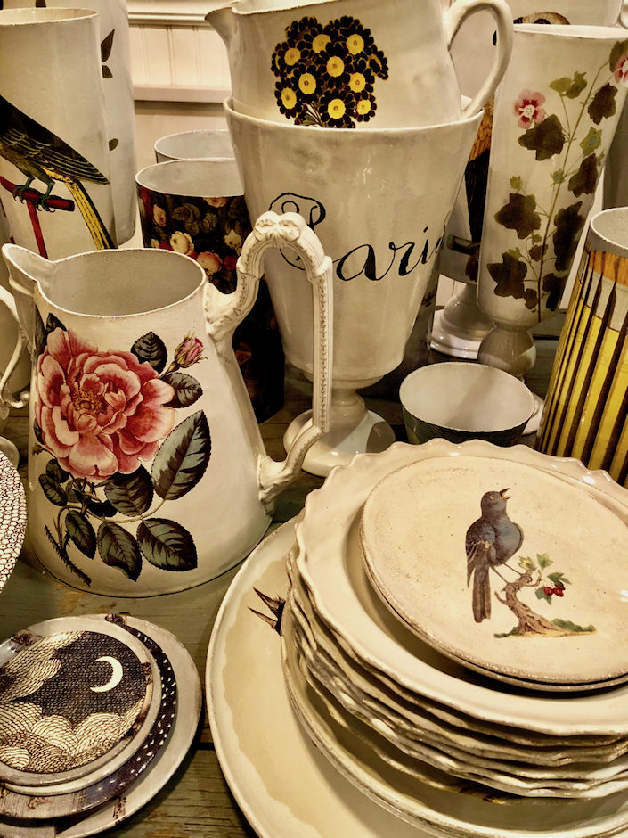 Astier de Villatte at John Derian shop