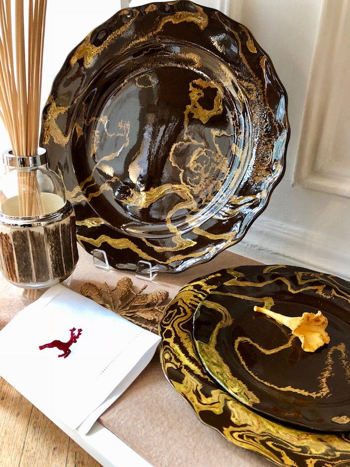 Cabana St. Moritz tableware