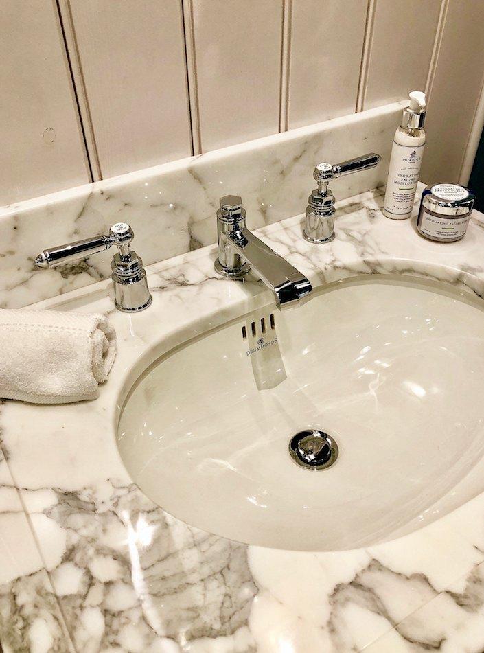 Drummonds marble vanity