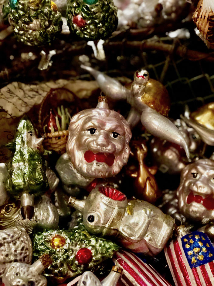 German christmas ornaments at John Derian 1