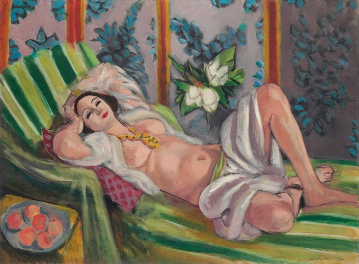 Henri Matisse Odalisque couchee aux magnolias