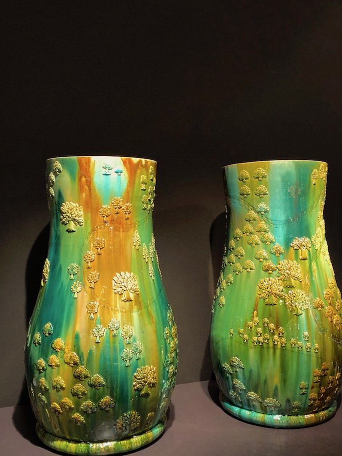 Kate Malone Waddesdon Estate Vases