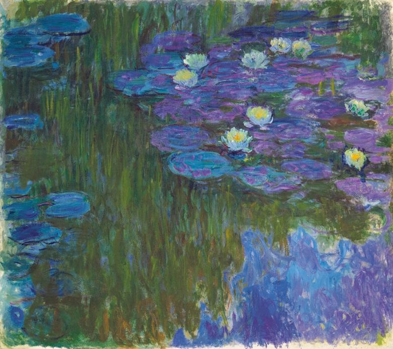 Monet Nympheas en fleur