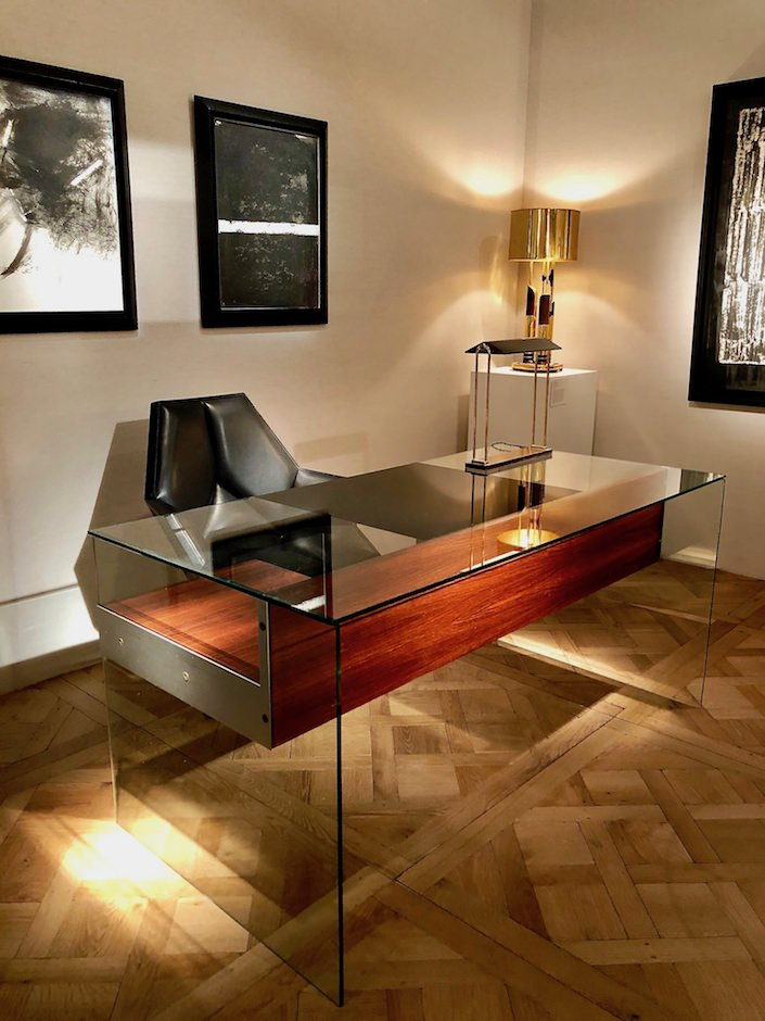 Philippon and Lecoq desk at Demisch Danant