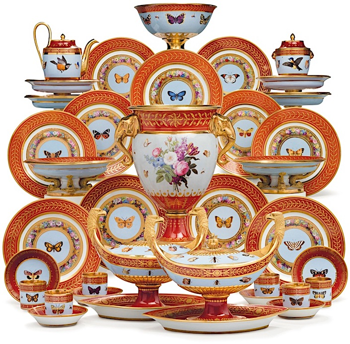Sevres Marly Rouge