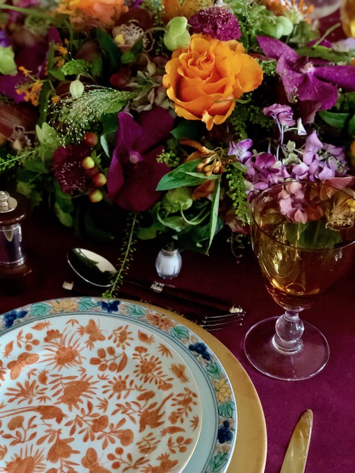 Thanksgiving table via Quintessence