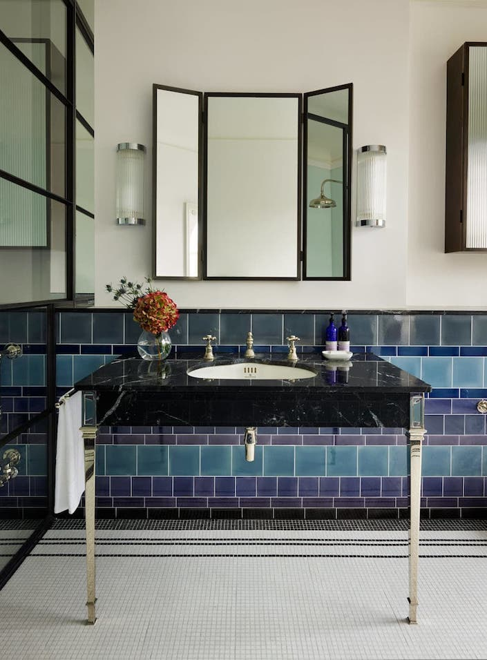 Waldo Works project with Drummonds bath products