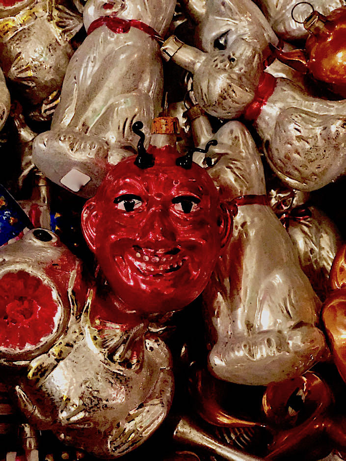 devil christmas ornament at John Derian