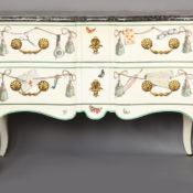 liz o'brien Maison Jansen commode at Salon cropped