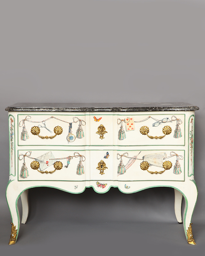 liz o'brien Maison Jansen commode at Salon