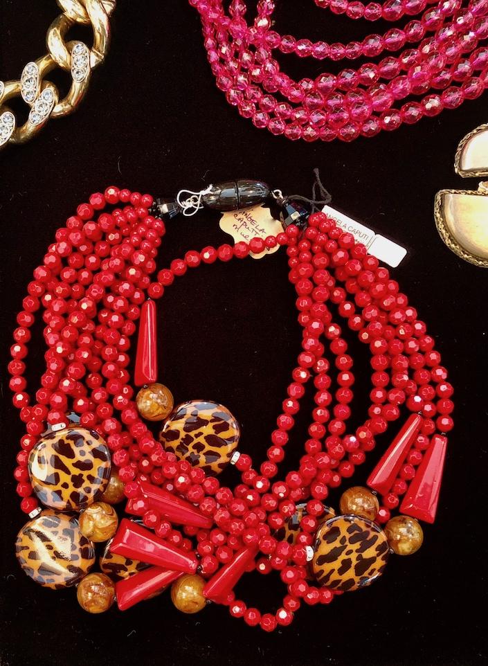 Angela Caputi necklace at Patrick Mele