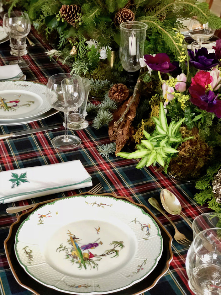 Christmas tablesetting via Quintessence