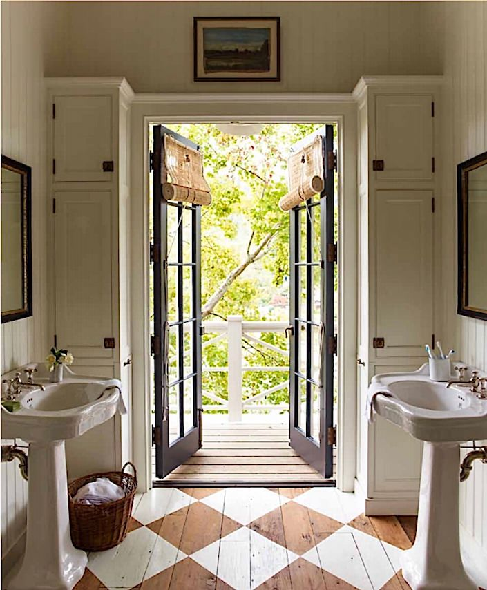 Gil Schafer bathroom in A Place to Call Home