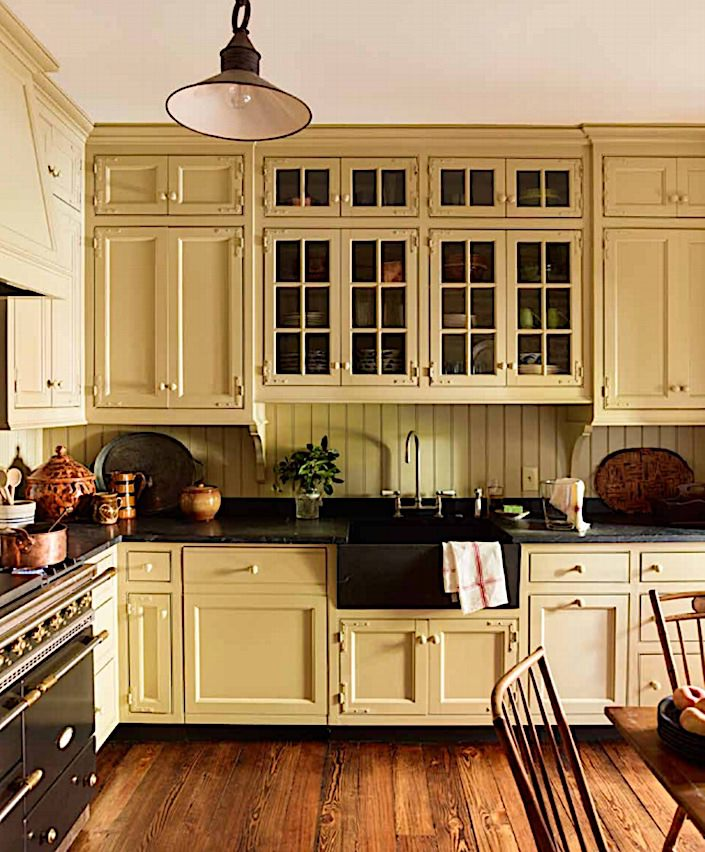 Gil Schafer kitchen in A Place to Call Home