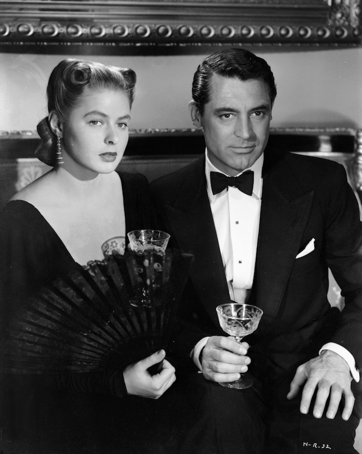 Ingrid Bergman and Cary Grant in Notorious