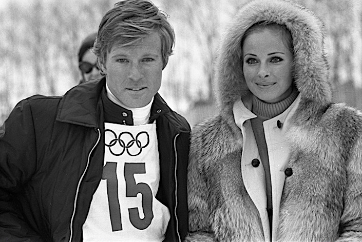 Robert Redford and Camilla Sparv in Downhill Racer