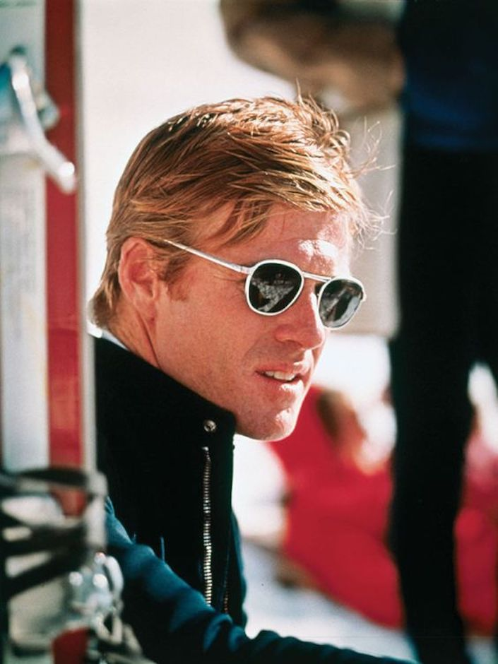 Robert Redford in Downhill Racer