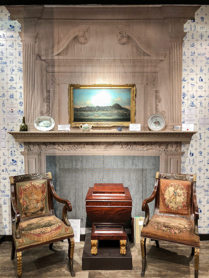 Beekman chairs at Bernard & S. Dean Levy at 2018 Winter AntiquesBeekman chairs at Bernard & S. Dean Levy at 2018 Winter Antiques