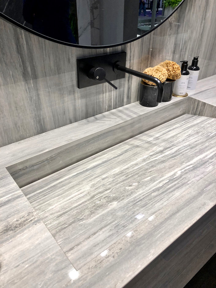 Florim porcelain slabs at KBIS