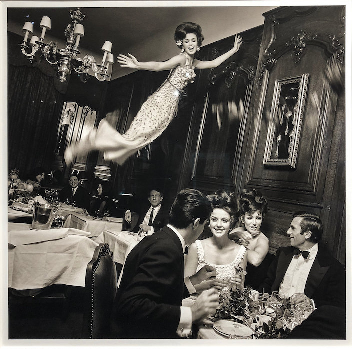 Melvin Sokolsky at Peter Fetterman at 2018 Winter Antiques Show