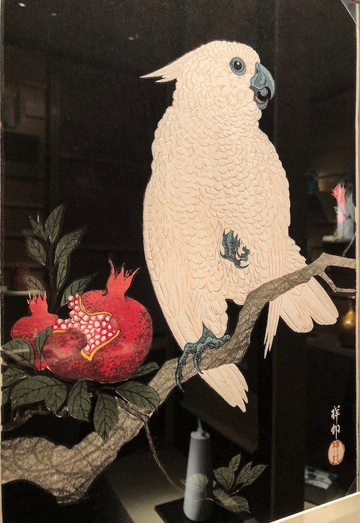Ohara Koson at Joan B. Mirviss at the 2018 Winter Antiques show