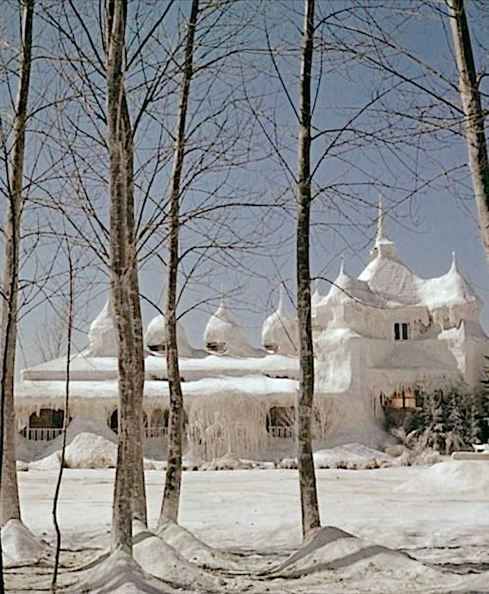 ice palace in Dr. Zhivago