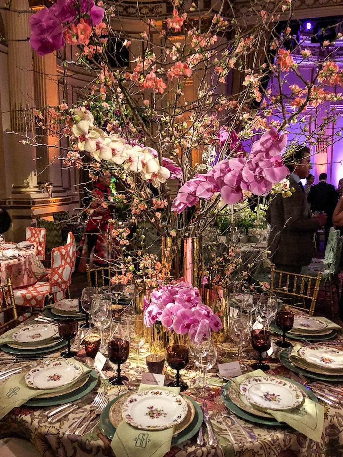 Barrie Benson 2018 NYBG Orchid Dinner