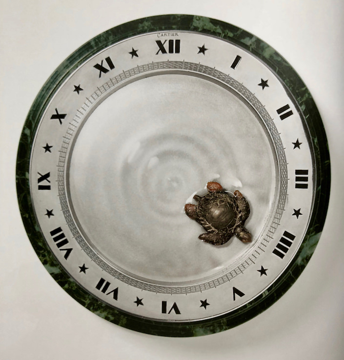 Cartier Mystery Clock in The Beauty of Time-1