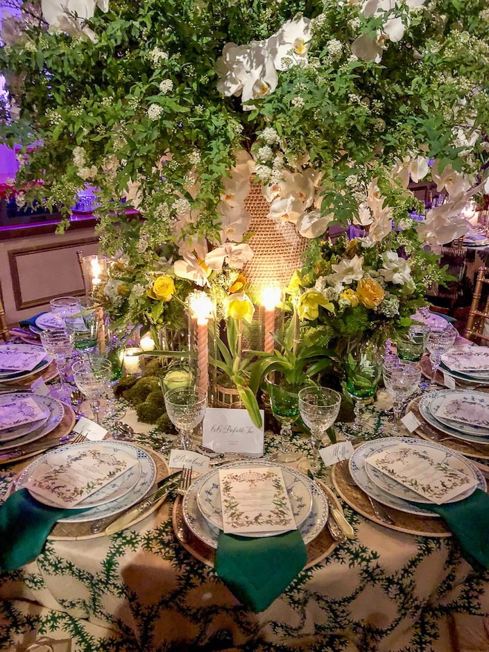 Cece Barfield NYBG Orchid Dinner 2018