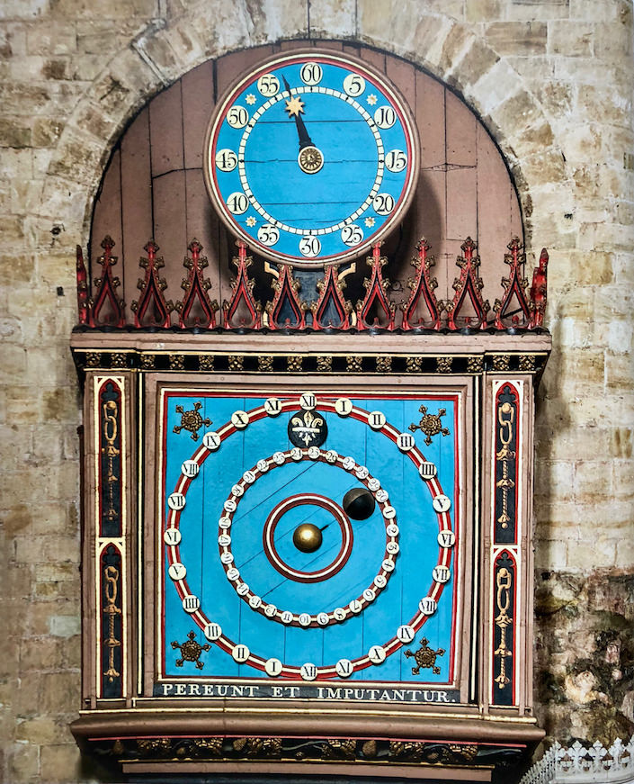 Exeter Cathedral astronomical clock in The Beauty of Time-1