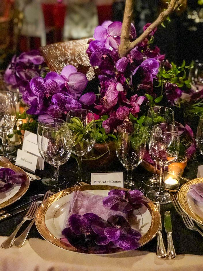 Fleurs Bella 2018 Orchid Dinner