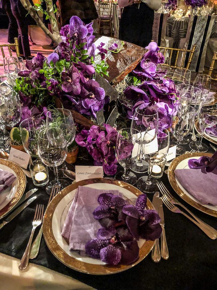 Fleurs Bella Orchid Dinner