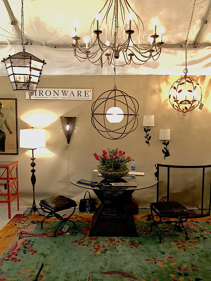 Ironware at Nashville Antiques Show