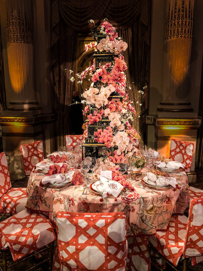 Kimberly Schlegel Whitman NYBG Orchid Dinner 2018