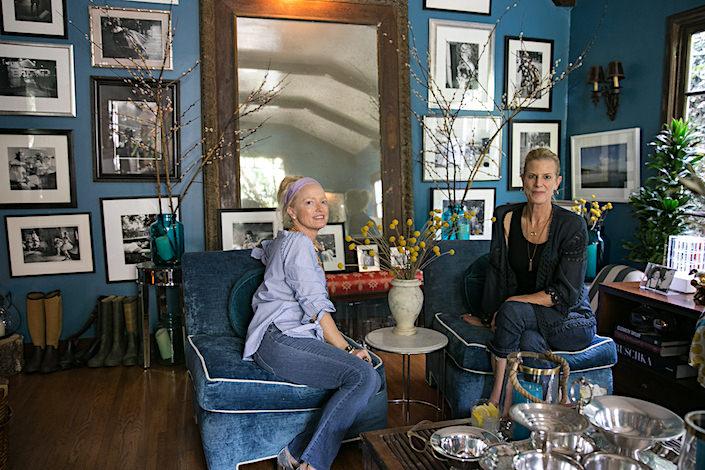 Lulu Powers and Susanna Salk-1