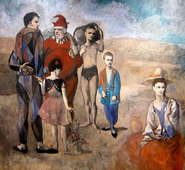 Picasso Family of Saltimbanques