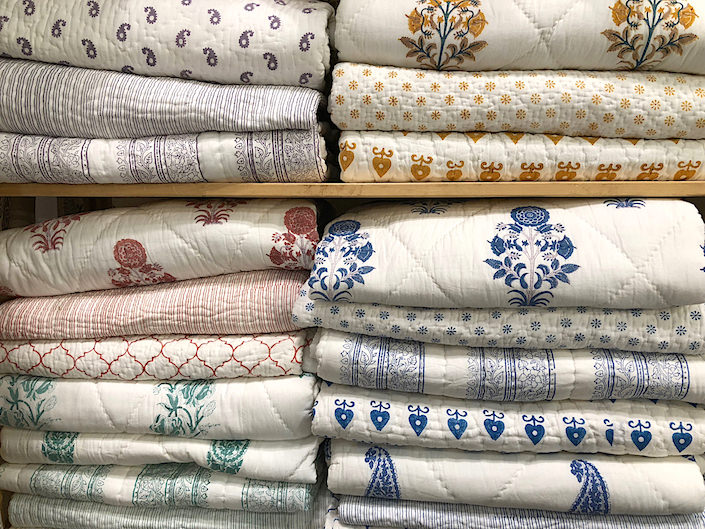 Serendipity Delhi coverlets at NY Now 2018