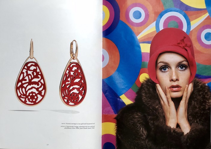 Twiggy and Pomellato earrings 1-1