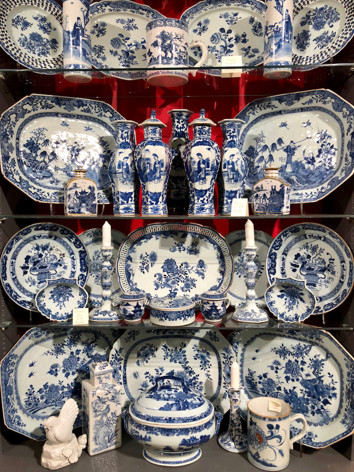 chinese export at Lynda Willauer at Nashville Antiques Show