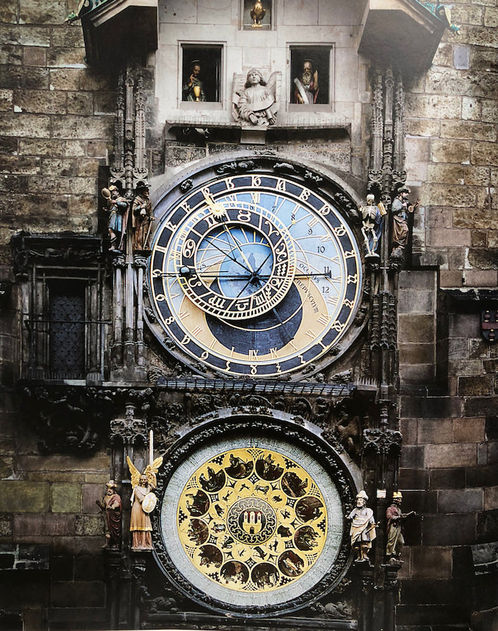 clock at Prague city hall in The Beauty of Time-1