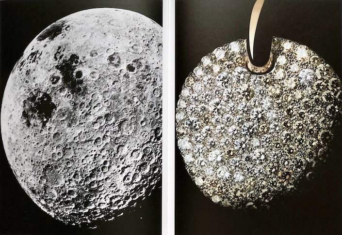 far side of the moon and Pomellato's Sabbia pendant-1
