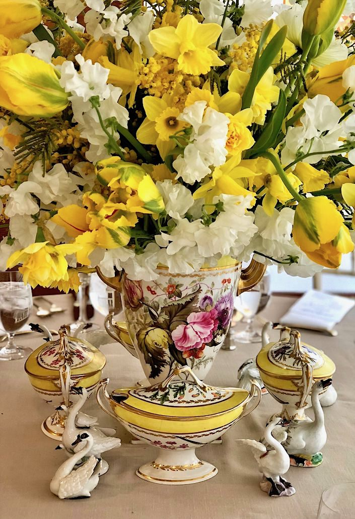 1795 Derby porcelain from the Rockefeller collection at Christie's Martha Stewart lunch