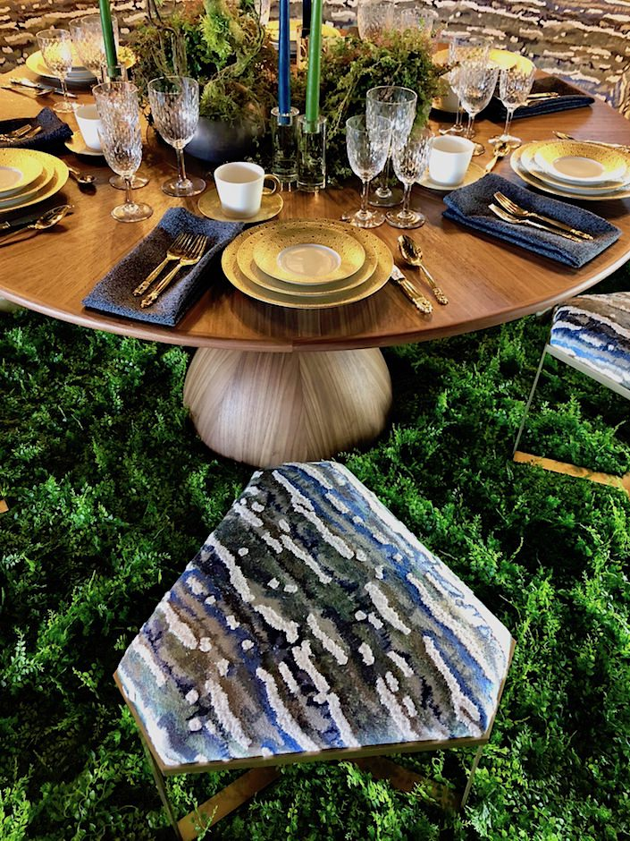 Bennett Leifer for Donghia Dining by Design 2018