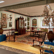 Frank de Biasi designed space at Christie's