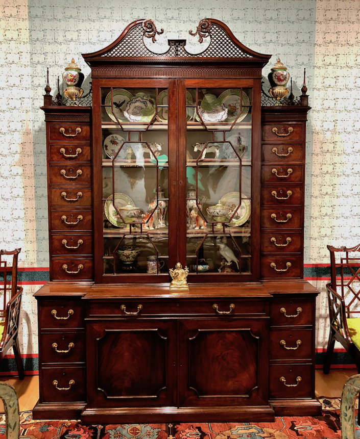 George III breakfront in Christie's Rockefeller sale