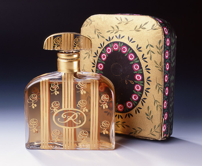 Parfums de Rosine 1912 designed by Paul Poiret and Paul Iribe.