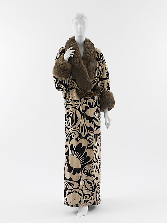 Paul Poiret design with fabric by Raoul Dufy