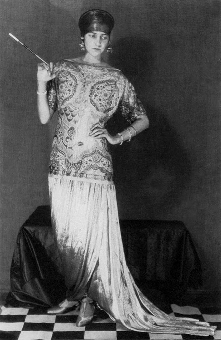 Peggy Guggenheim in Paul Poiret