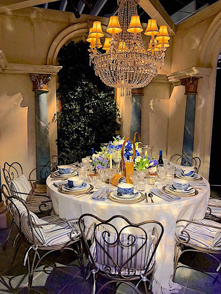 Ralph Lauren Dining by Design 2018 table design